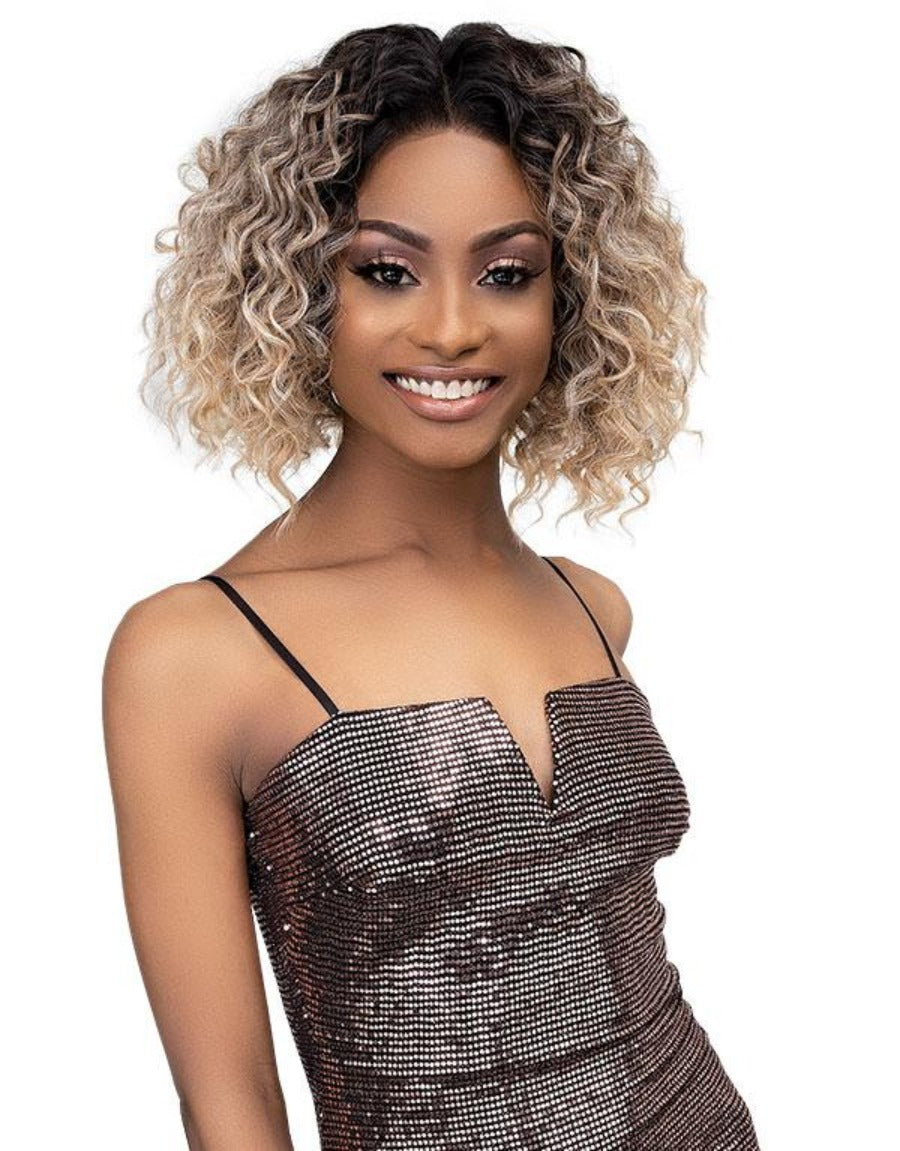 Janet Collection Synthetic Melt Extended Deep HD Part Lace Wig DEJA