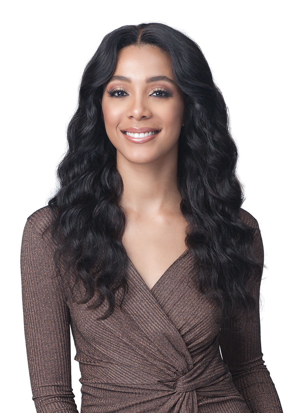 Bobbi Boss Unprocessed Brazilian Virgin Remy HH Hair Lace Front Wig MHLF529 BRIGETTE