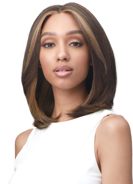 Bobbi Boss Synthetic Hair 5 inch Deep Part Lace Front Wig MLF480 SADIE