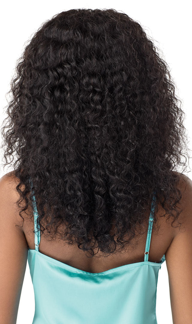 Outre Mytresses Gold Label WET & WAVY 100% Unprocessed Human Hair Lace Front Wig JERRY CURL 20-22""