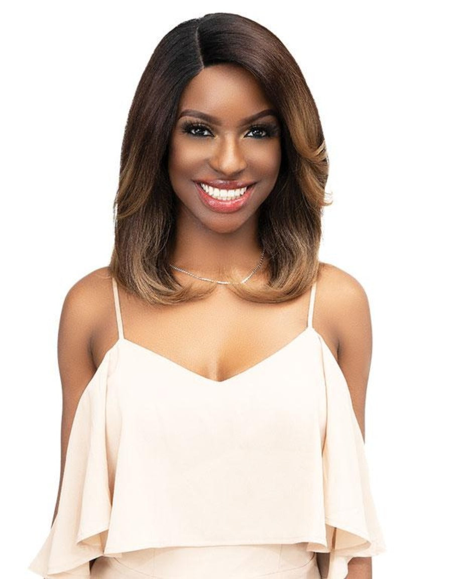 Janet Collection Synthetic Natural Me Lite Lace Wig BRYAH