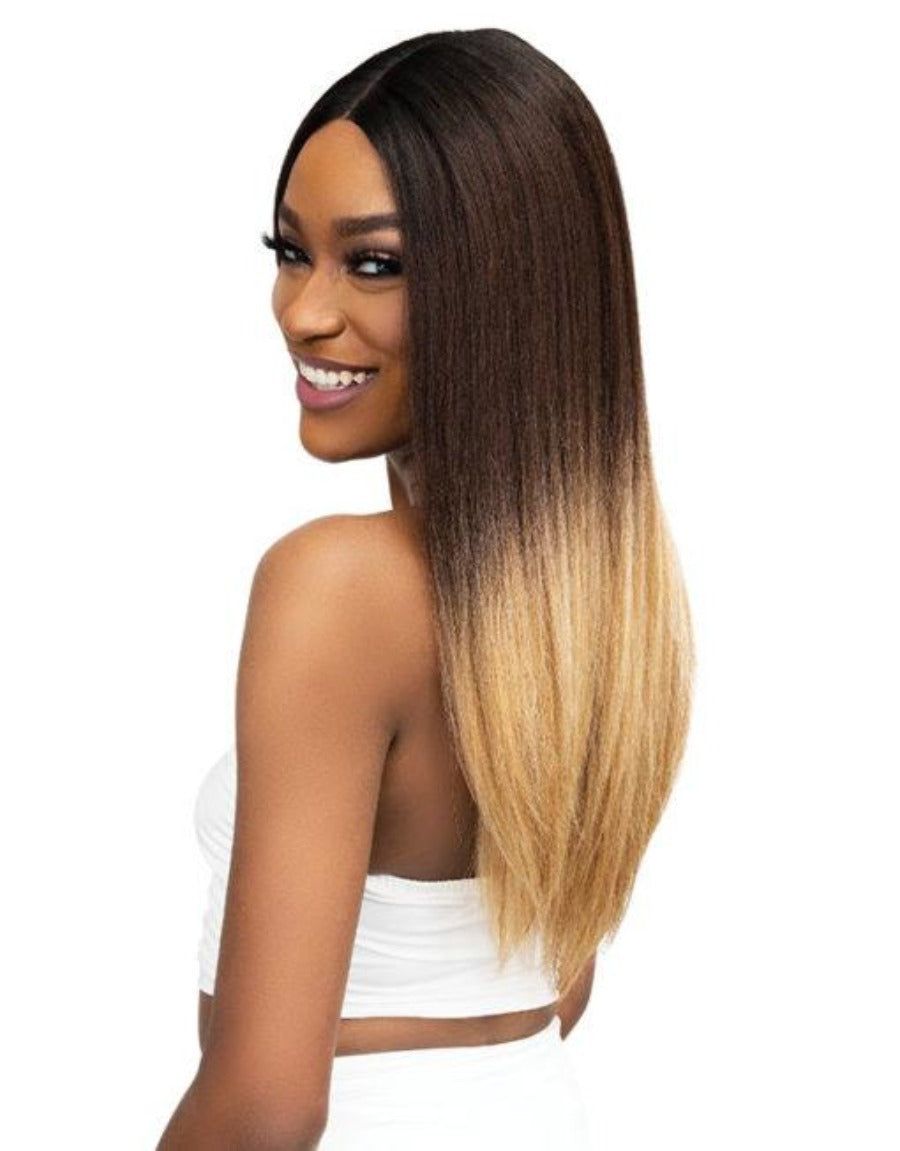 Janet Collection Synthetic Natural Me Lite Lace Wig IMAN