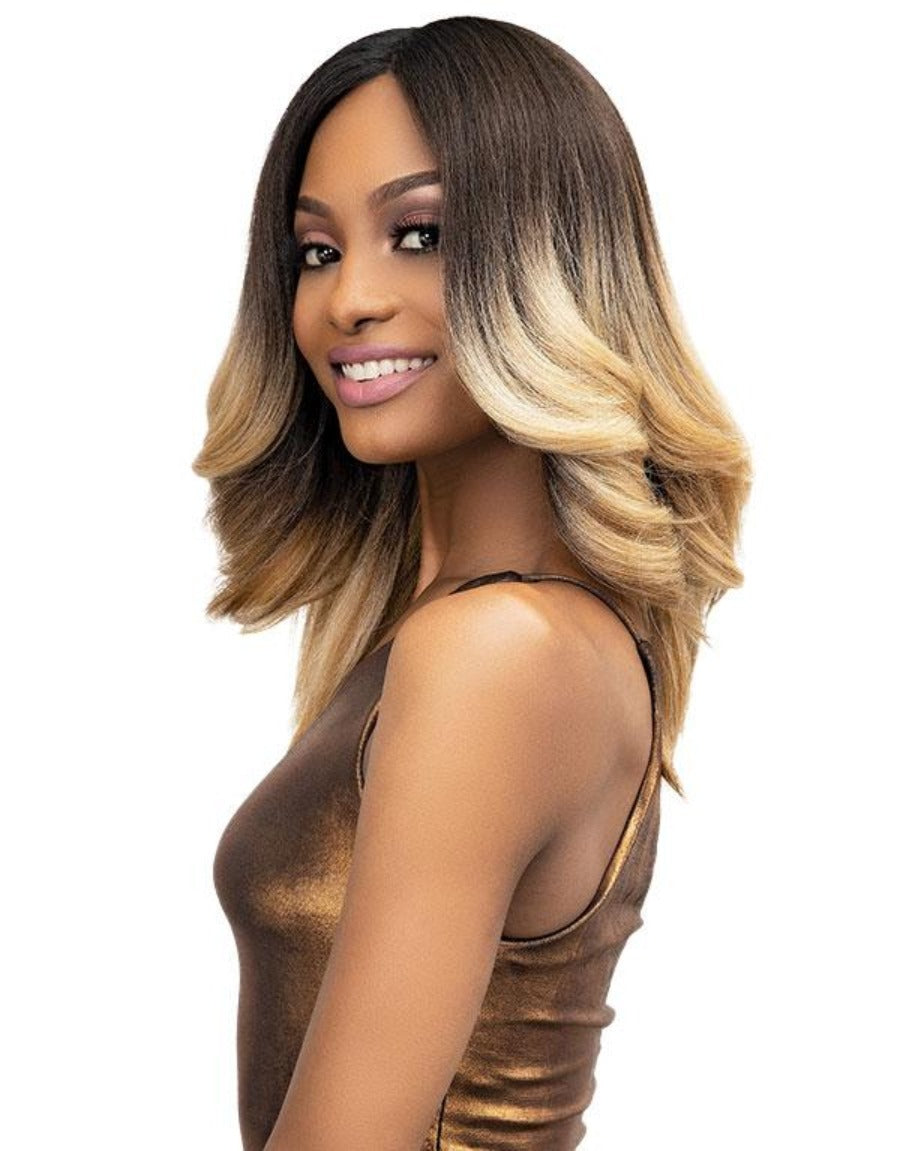 Janet Collection Synthetic Natural Me Lite Lace Wig TIANA