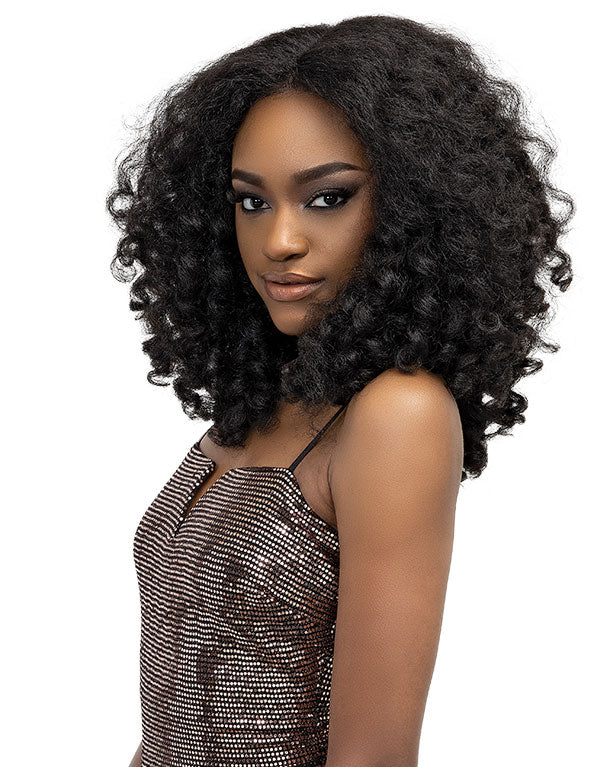 Janet Collection Natural Me Synthetic Hair Lace Wig ZARA