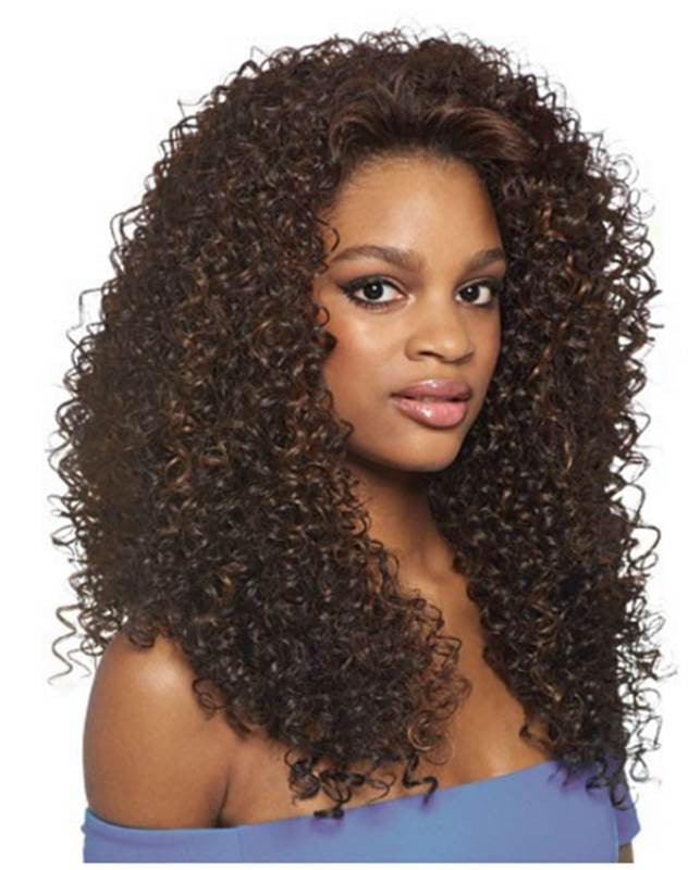Outre Quick Weave Half Wig DOMINICAN CURLY