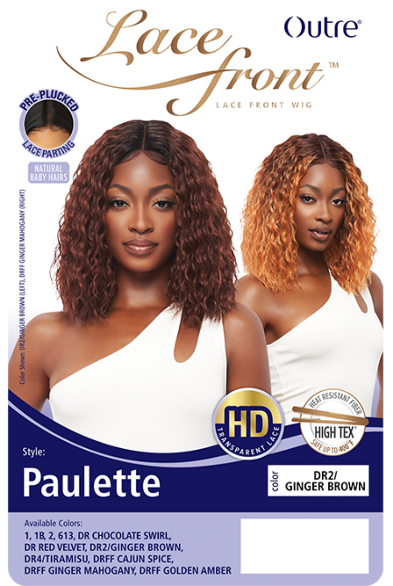 Outre Synthetic HD Lace Front Wig PAULETTE