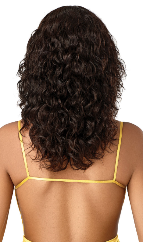 Outre Unprocessed Mytresses Gold Label Lace Front Wig NATURAL CURLY 20-22""