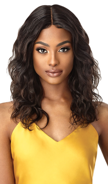 Outre Unprocessed Mytresses Gold Label Lace Front Wig NATURAL BODY 20-22""