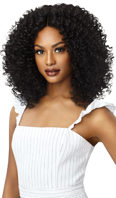 Outre Big Beautiful Hair Lace Front Wig 3B RHYTHM RINGLETS (discount applied)