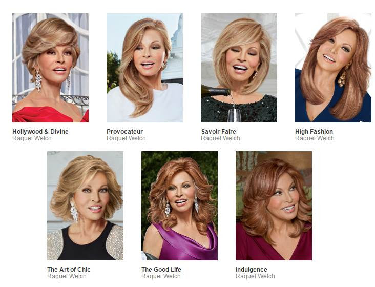 Raquel Welch Wigs Couture Collections