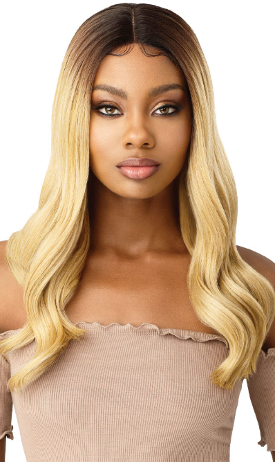 Outre Synthetic I Part Swiss Lace Front Wig LYSETTE
