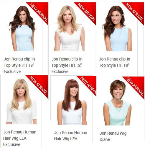 Renau UK, Jon Renau Wigs UK, Jon Renau Wigs Europe, Jon Renau collections