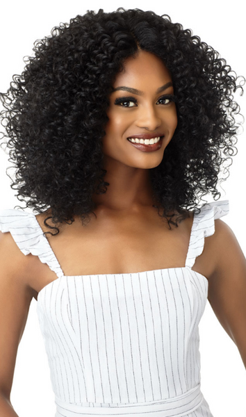 Outre Big Beautiful Hair Lace Front Wig 3B RHYTHM RINGLETS