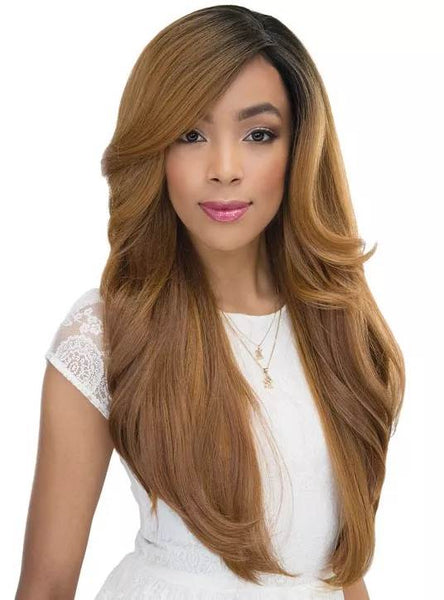 "Janet Collection Princess 4"" x 4"" Lace Front Wig ANGIE"