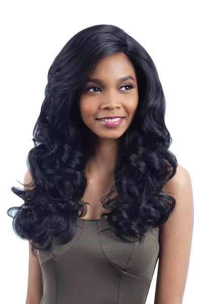 Model Model Deep Invisible L Part Lace Front Wig POSH MEADOW