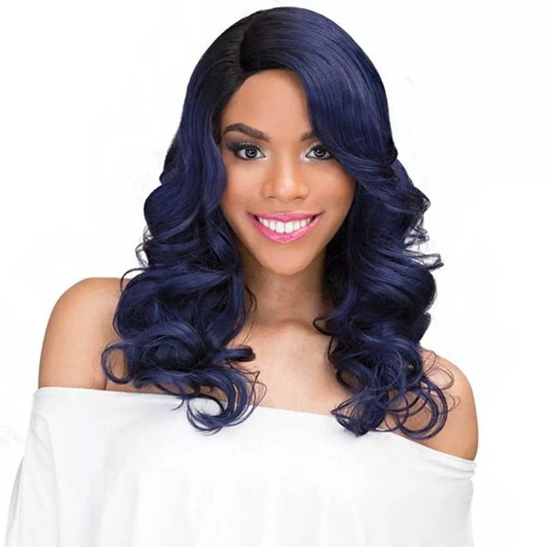 Janet Collection Human Hair Brazilian Scent Lace Wig ROSLIN