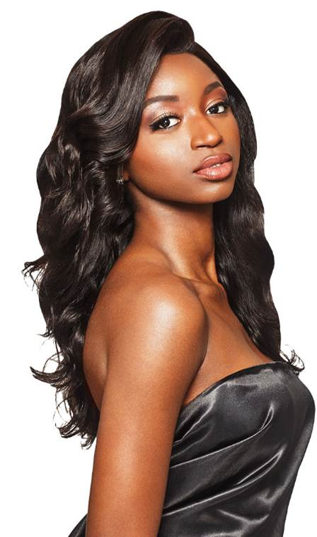 "Outre MyTresses Black Label 100% Unprocessed HH 13"" X 4"" Full Lace Wig NATURAL LOOSE BODY"
