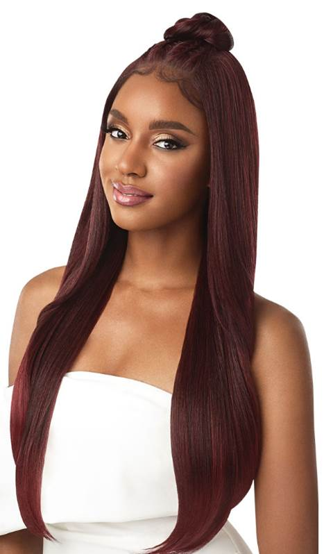 Outre Perfect Hairline 13x6 Pre-Braided Lace Front Wig IMAN