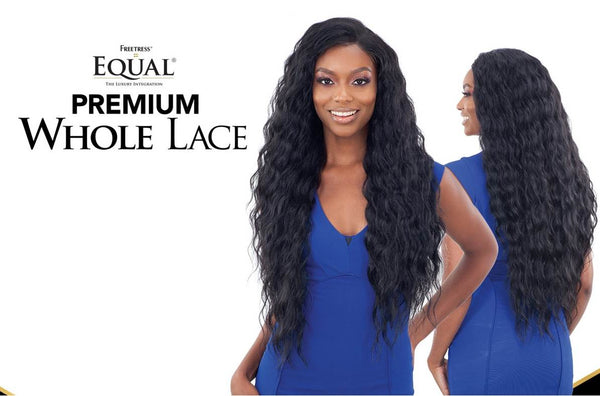 Freetress Equal Synthetic Hand Tied Premium Whole Lace Wig PL 04