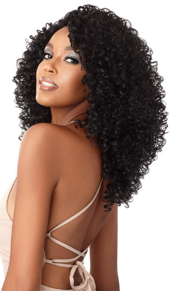 Outre Synthetic L Part Swiss Lace Front Wig BLANCA