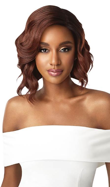 "Outre Synthetic 5"" Deep L-Part Swiss Lace Front Wig TINASHE"