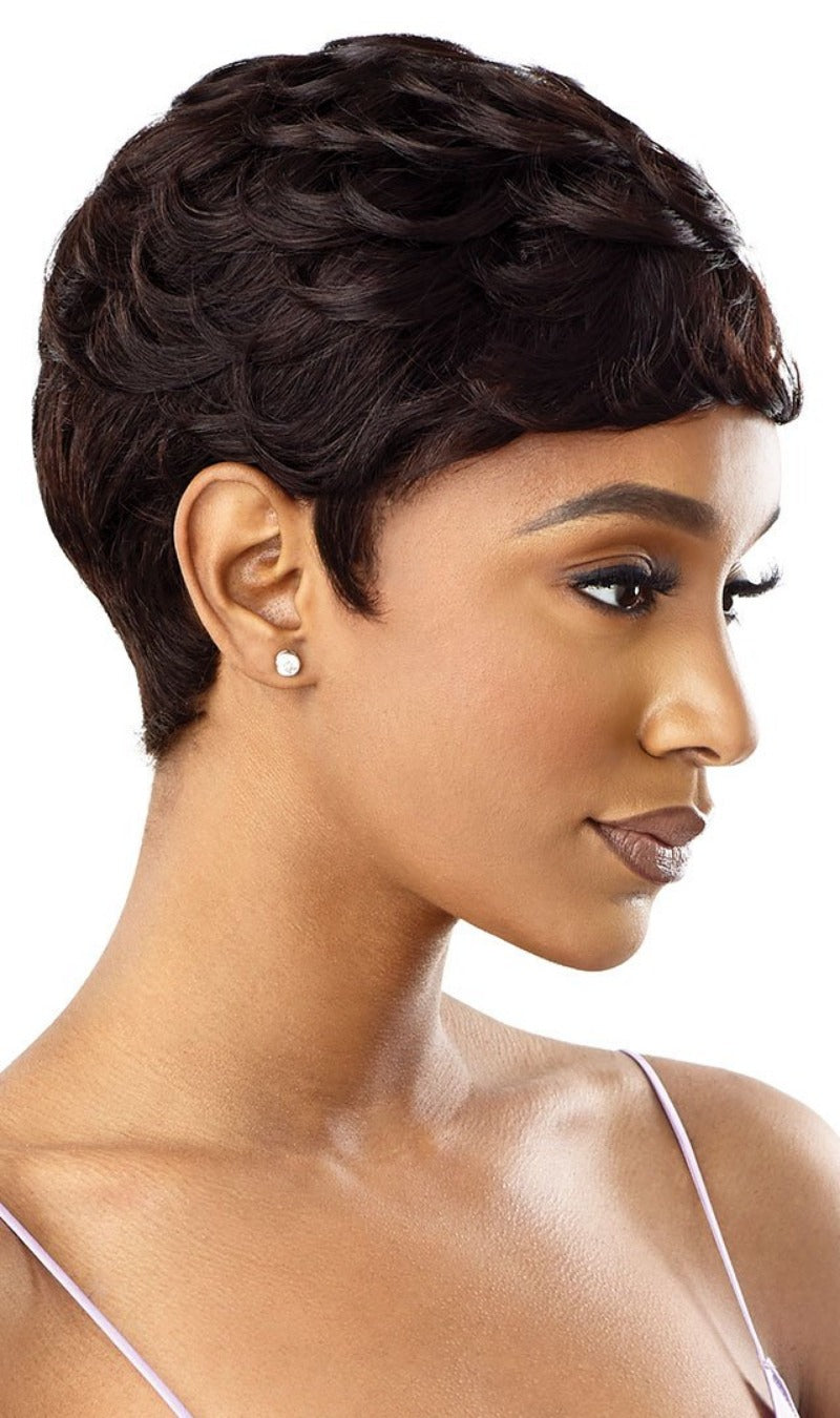 Outre MyTresses Purple Label Unprocessed Human Hair Full Wig BONNIE