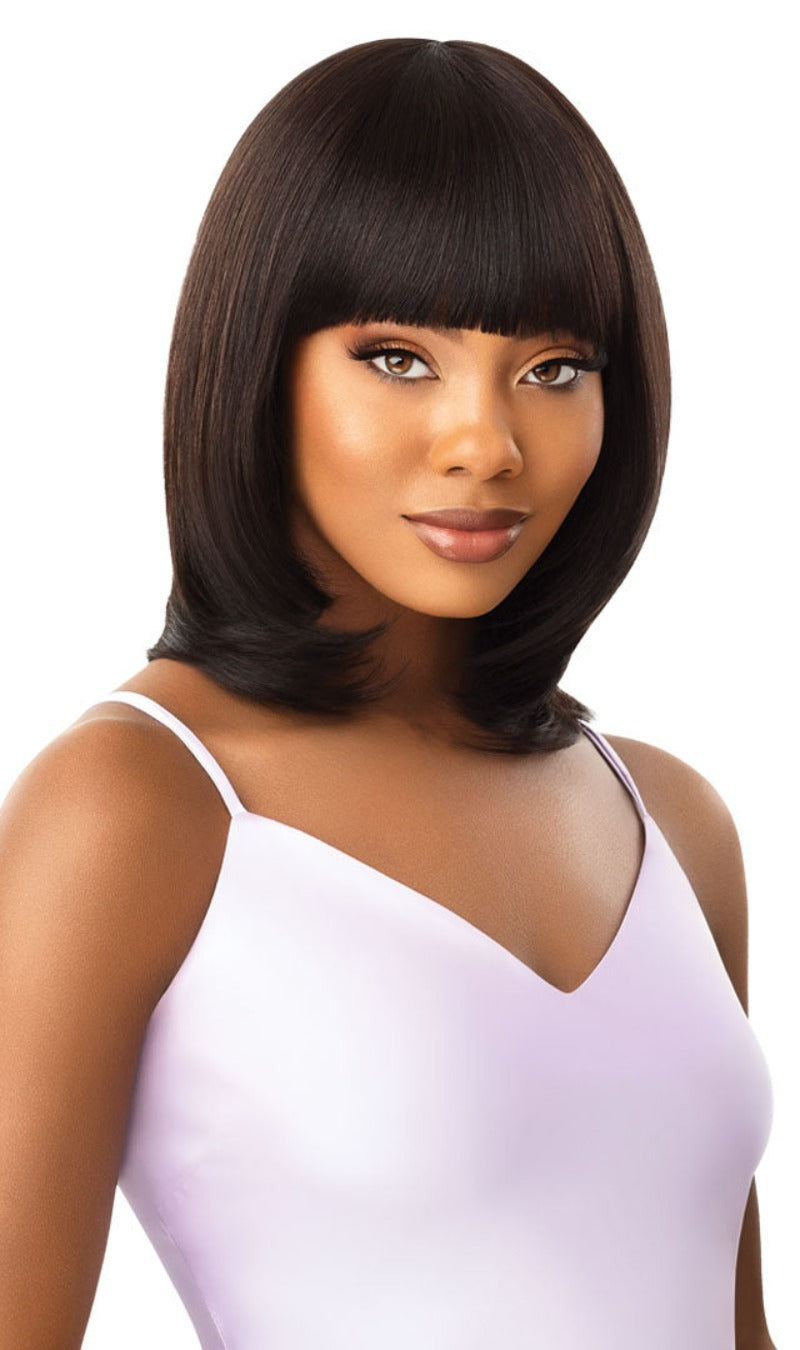 Outre MyTresses Purple Label Unprocessed Human Hair Full Wig NADINE