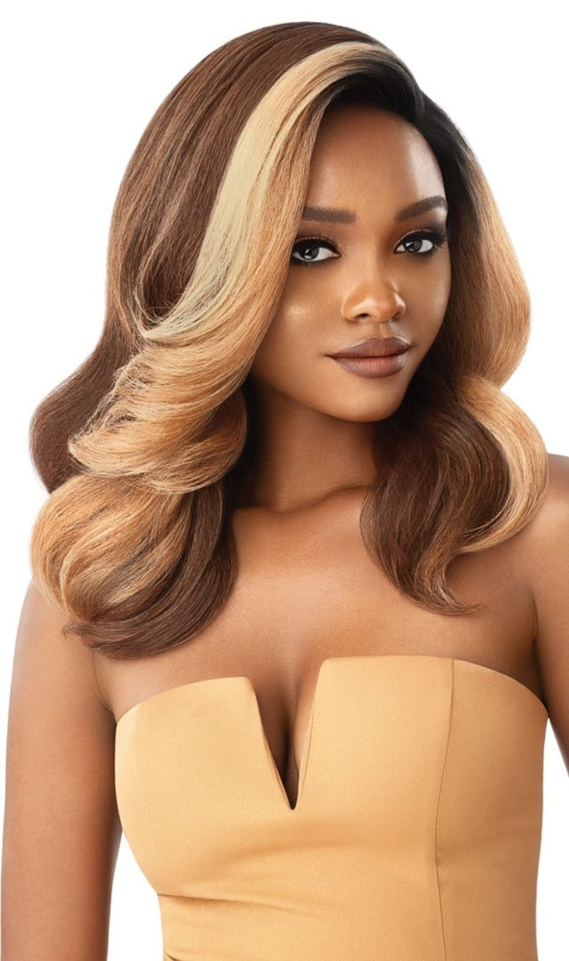 Outre Soft & Natural Synthetic Lace Front Wig NEESHA 202