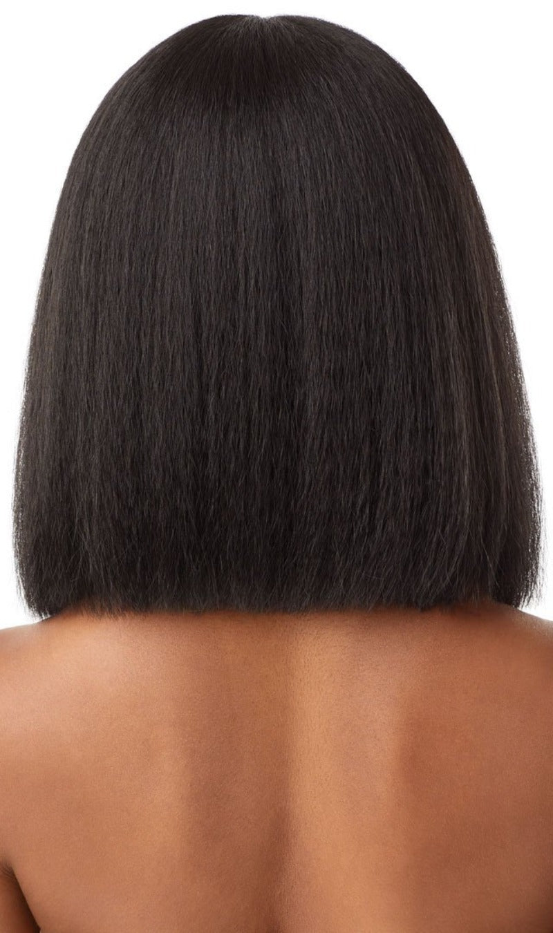 Outre Synthetic Pre-Plucked HD Transparent Lace Front Wig ANNIE BOB 12""