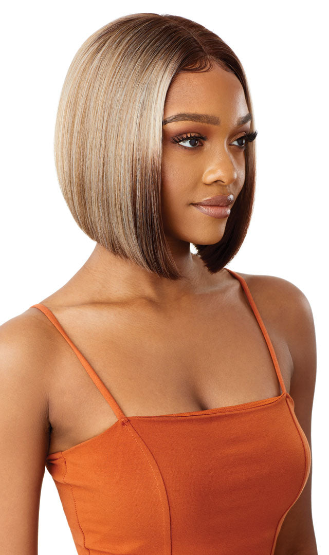 Outre Color Bomb Synthetic Swiss Lace Front Wig BONA