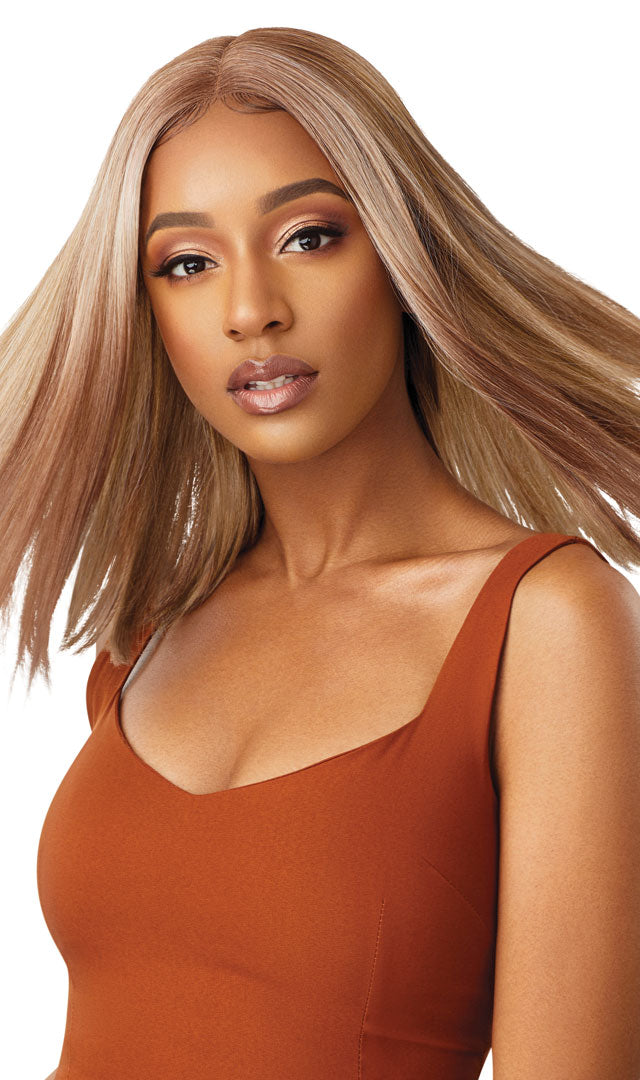 Outre Color Bomb Synthetic Swiss Lace Front Wig CASSIDY