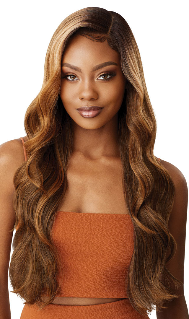 Outre Color Bomb Synthetic Swiss Lace Front Wig KIMANI