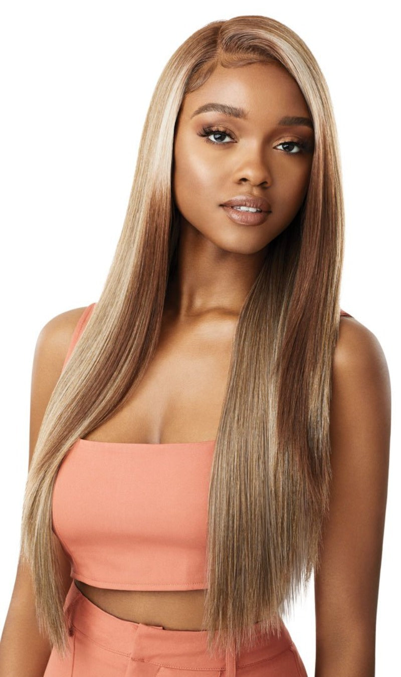 Outre Color Bomb Synthetic Swiss Lace Front Wig KOURTNEY