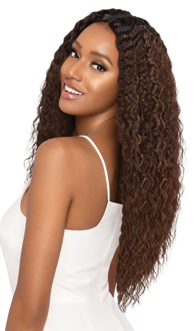 Outre Synthetic Swiss Lace Front Wig KALEIA