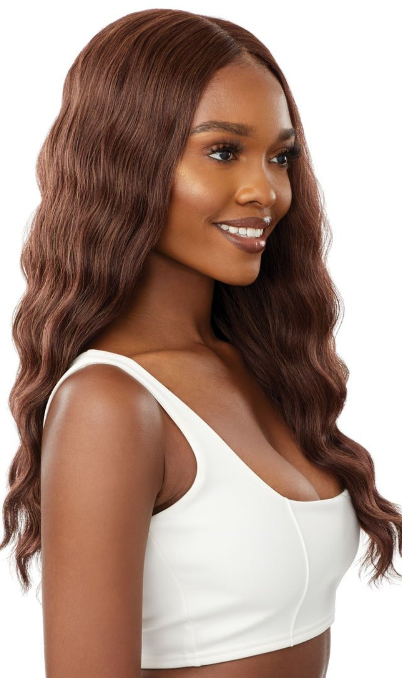 Outre Synthetic Swiss HD Lace Front Wig KITANA