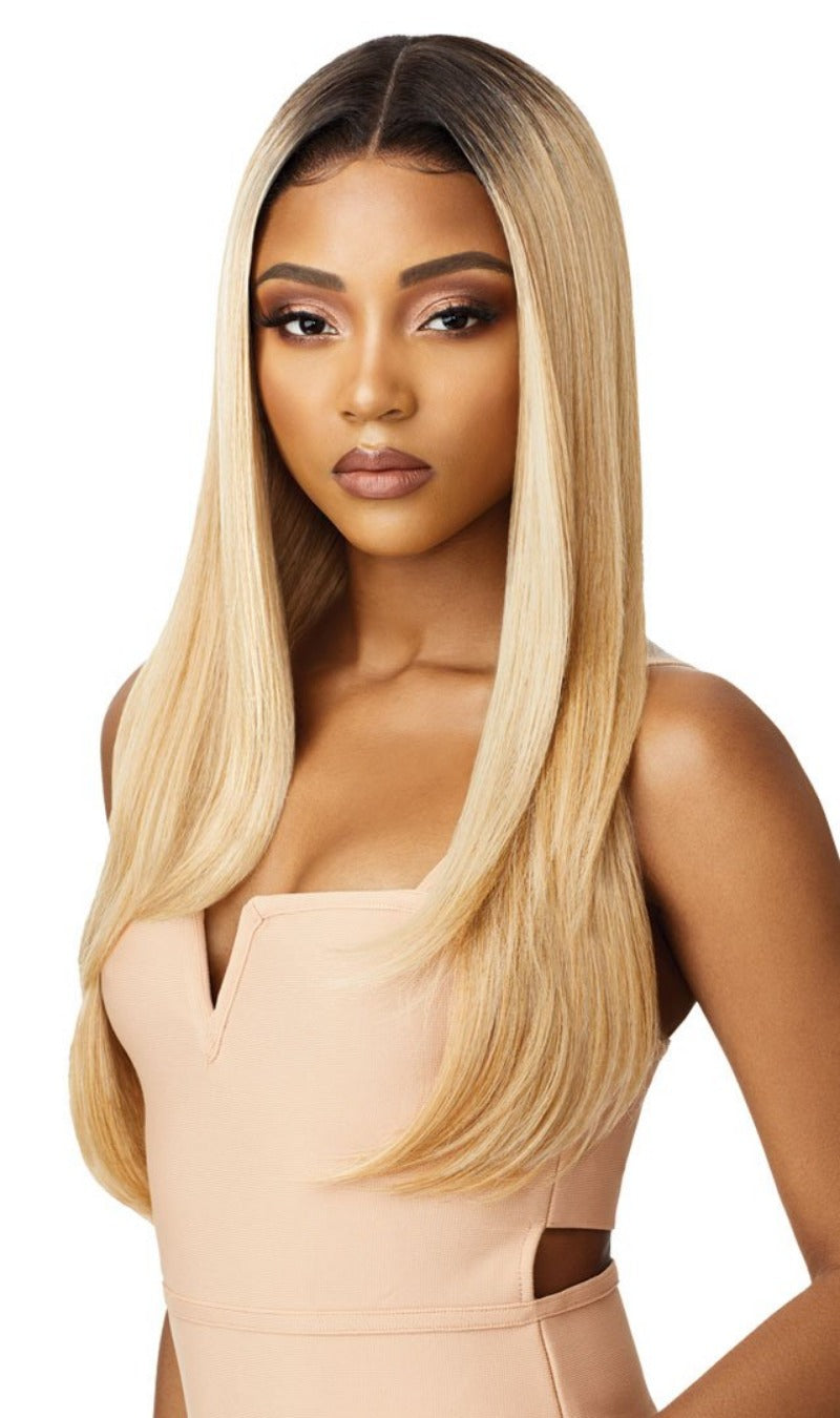 Outre Synthetic Swiss Lace Front Wig AALIYAH
