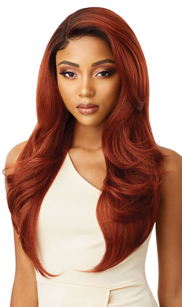 Outre Synthetic Swiss Lace Front Wig CATALINA