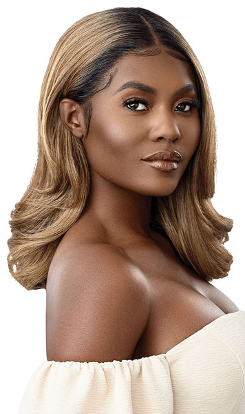 Outre Synthetic Melted Hairline HD Lace Front Wig JENNI