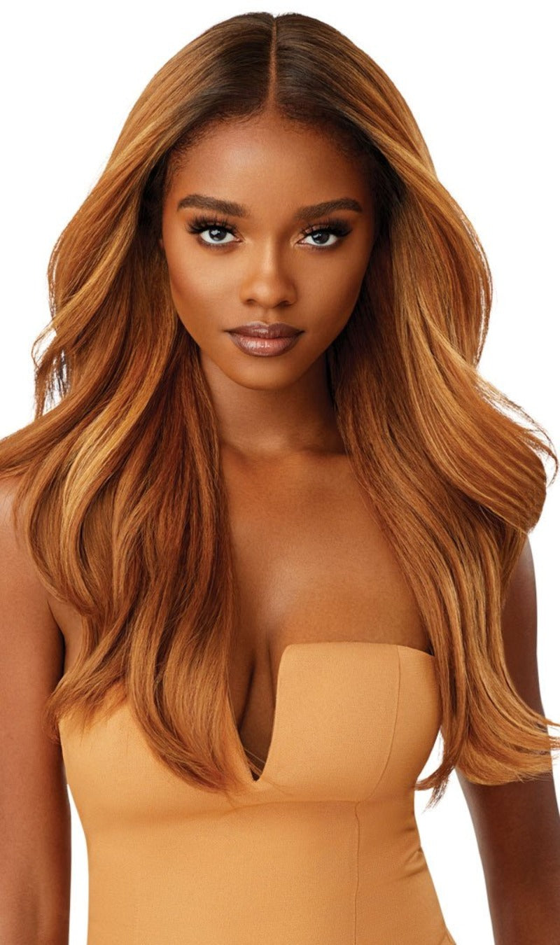 Outre Synthetic Melted Hairline Lace Front Wig KAMIYAH