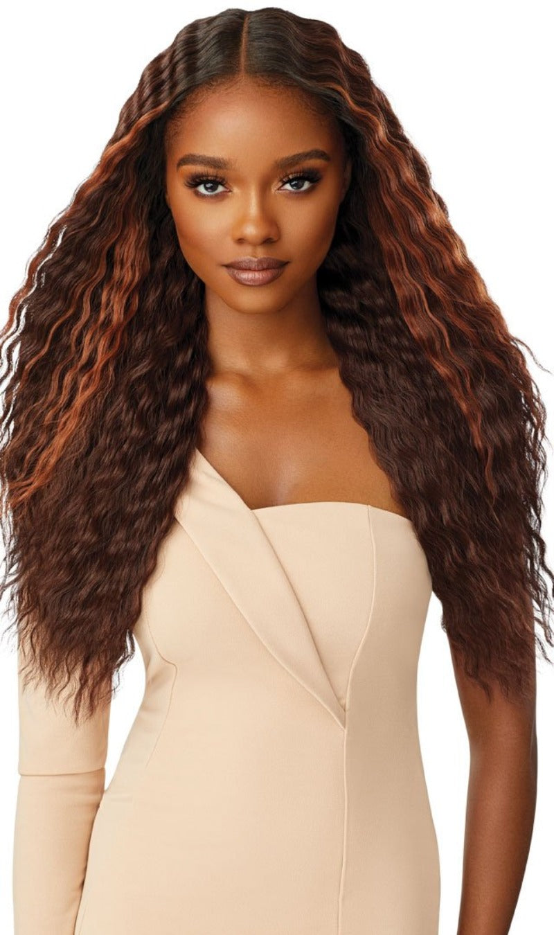 Outre Synthetic Melted Hairline Lace Front Wig LILYANA