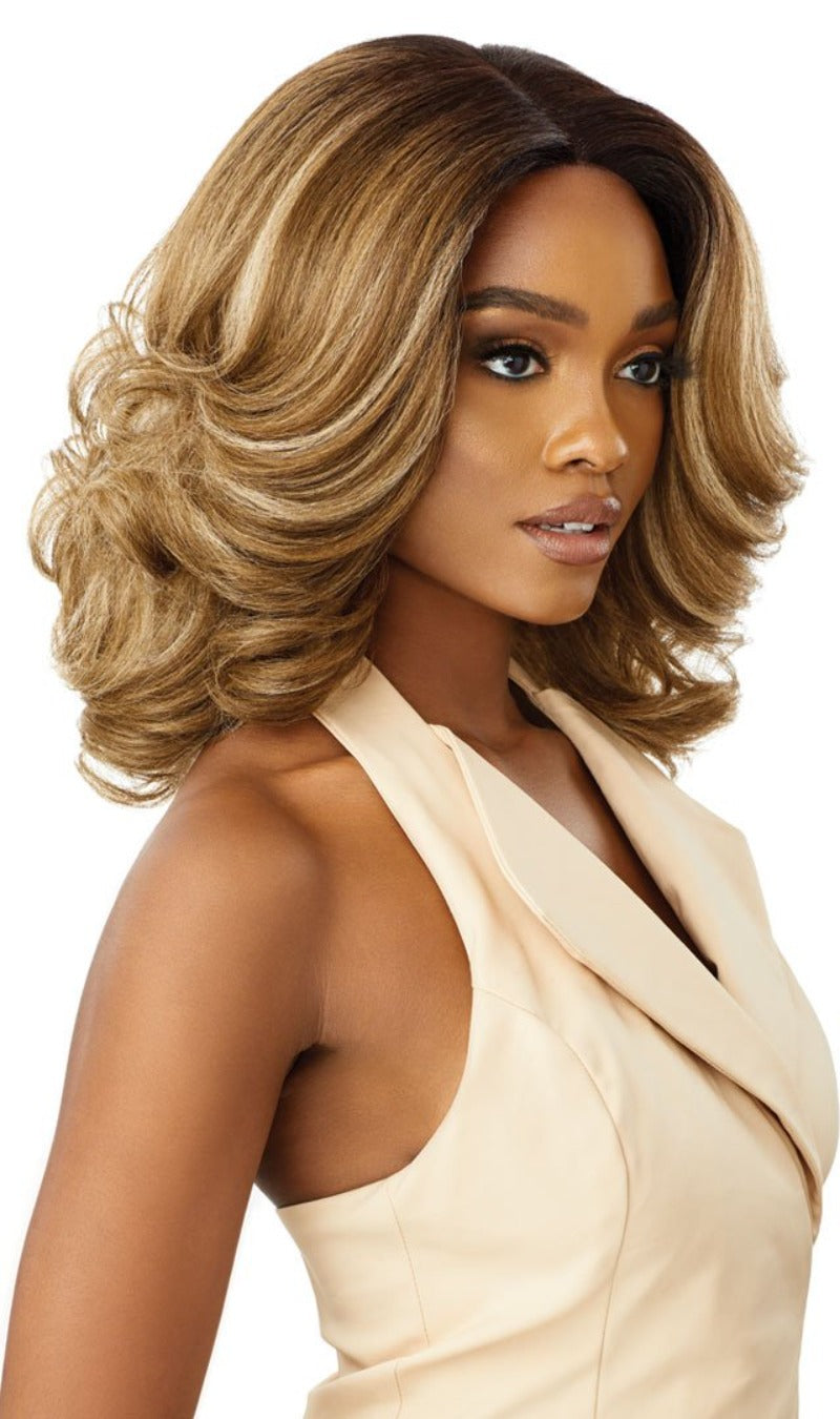 Outre Soft & Natural Synthetic Lace Front Wig NEESHA 204
