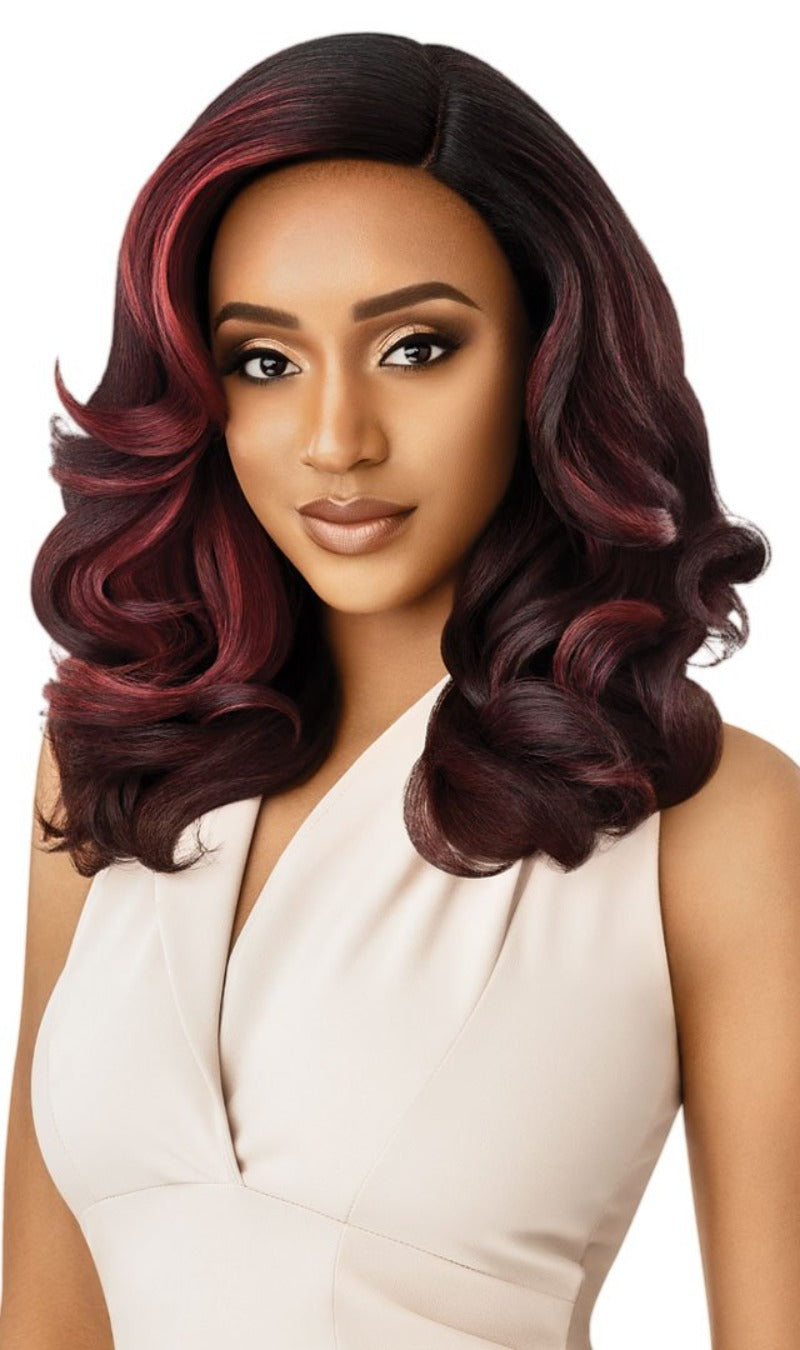 Outre Soft & Natural Synthetic Lace Front Wig NEESHA 205