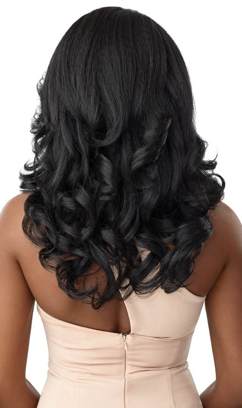 Outre Soft & Natural Synthetic Lace Front Wig NEESHA 209