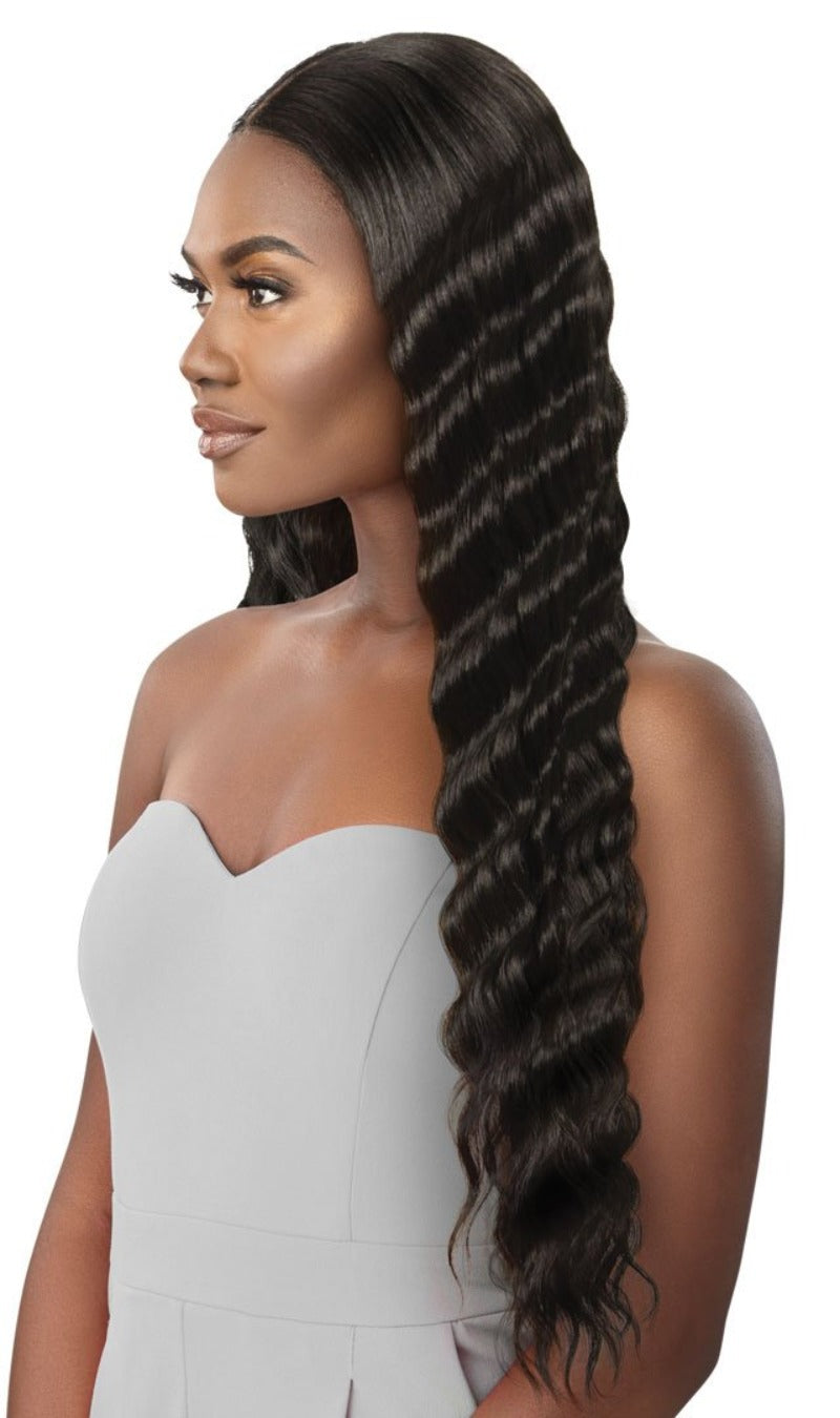 Outre Synthetic Swiss HD Lace Front Wig ODESSA