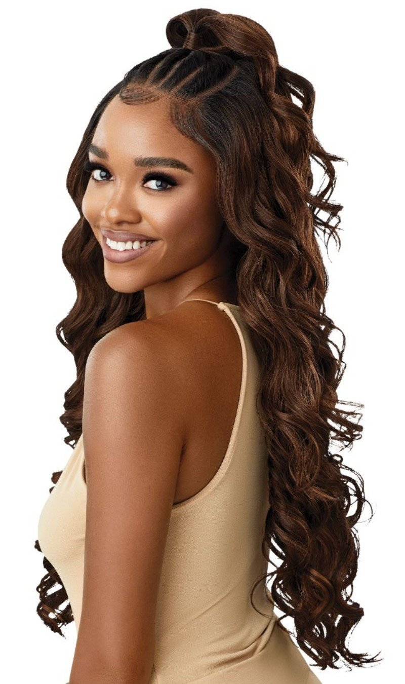 Outre Perfect Hairline Synthetic HD 13x6 lace Frontal Lace Wig CHARISMA