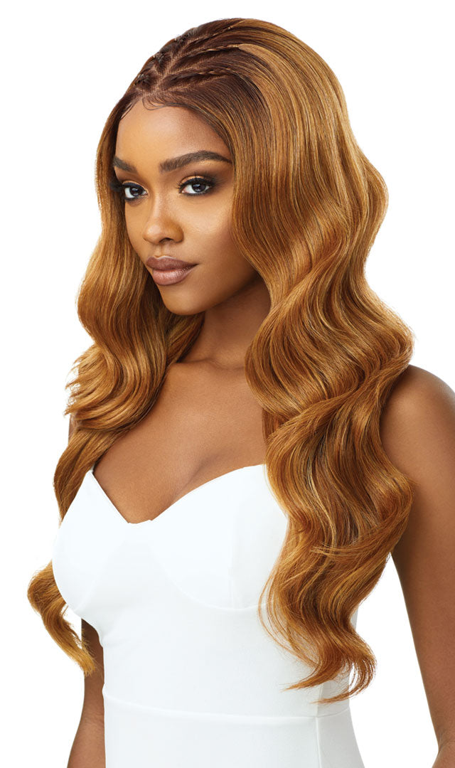 Outre Perfect Hairline Synthetic 13x6 Swiss Lace Front Wig INDIA