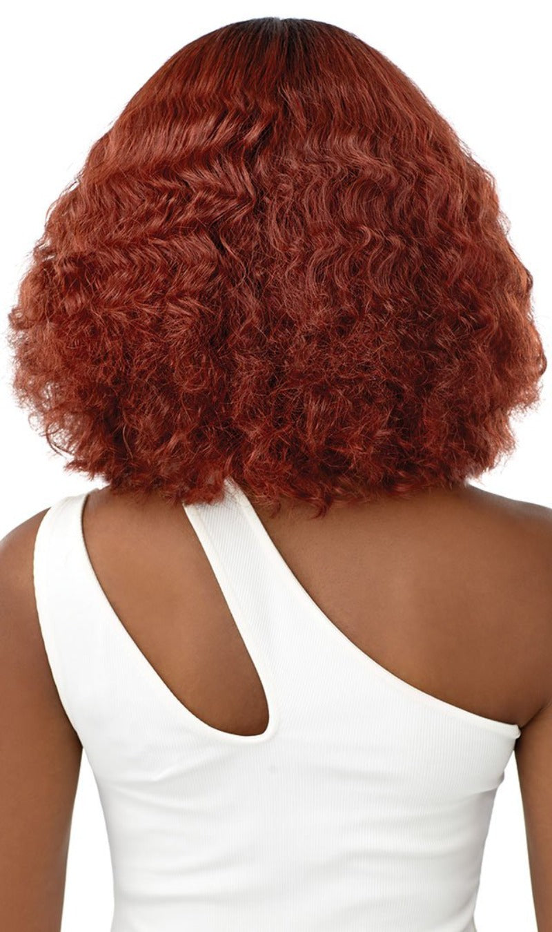 Outre Synthetic Wet & Wavy Style HD Lace Front Wig SOLEIL