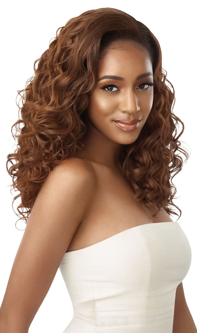 Outre Quick Weave Synthetic Half Wig DONDRIA