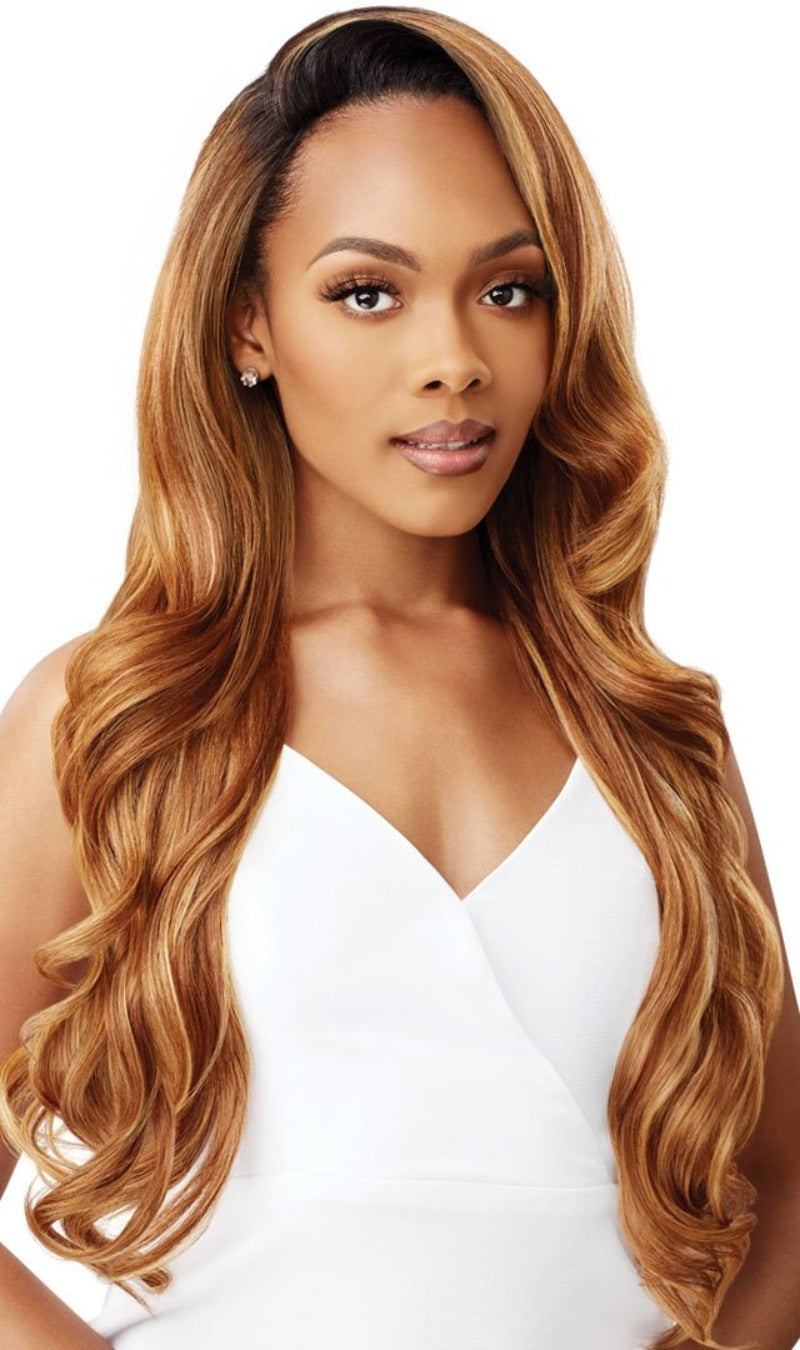 Outre Synthetic Quick Weave Half Wig VIOLETTA