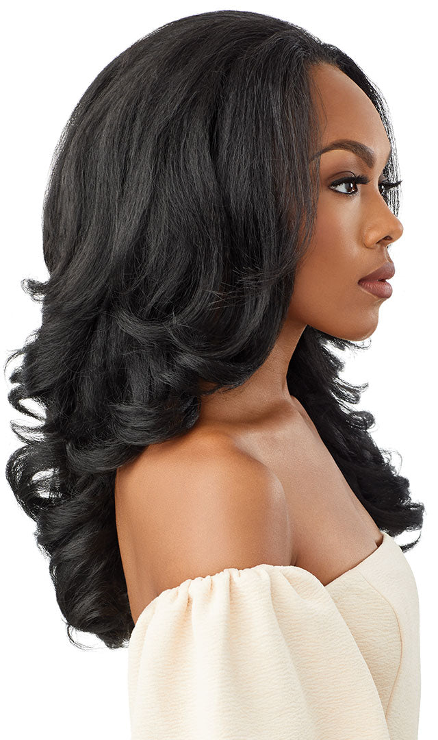 Outre Quick Weave Synthetic Half Wig NEESHA H301